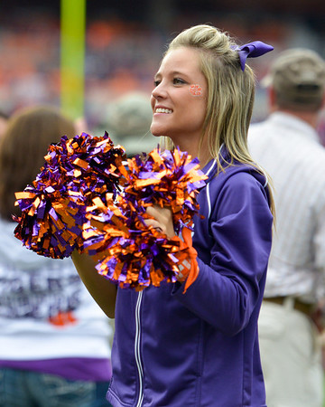 Clemson vs Citadel - Senior Day. Images not for sale for News Media only